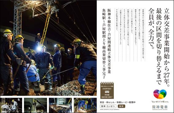 阪神電車高架事業