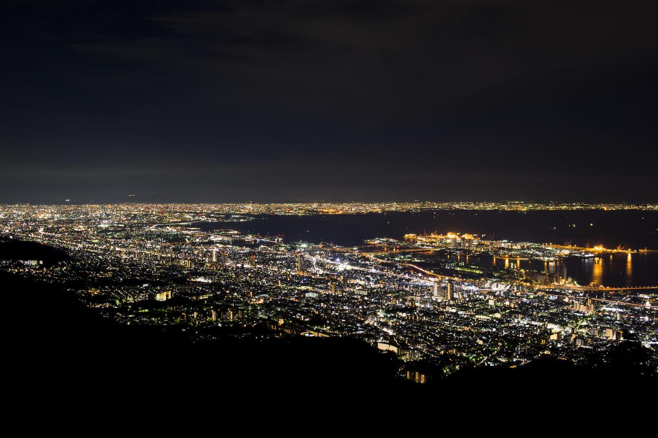 摩耶山・夜景