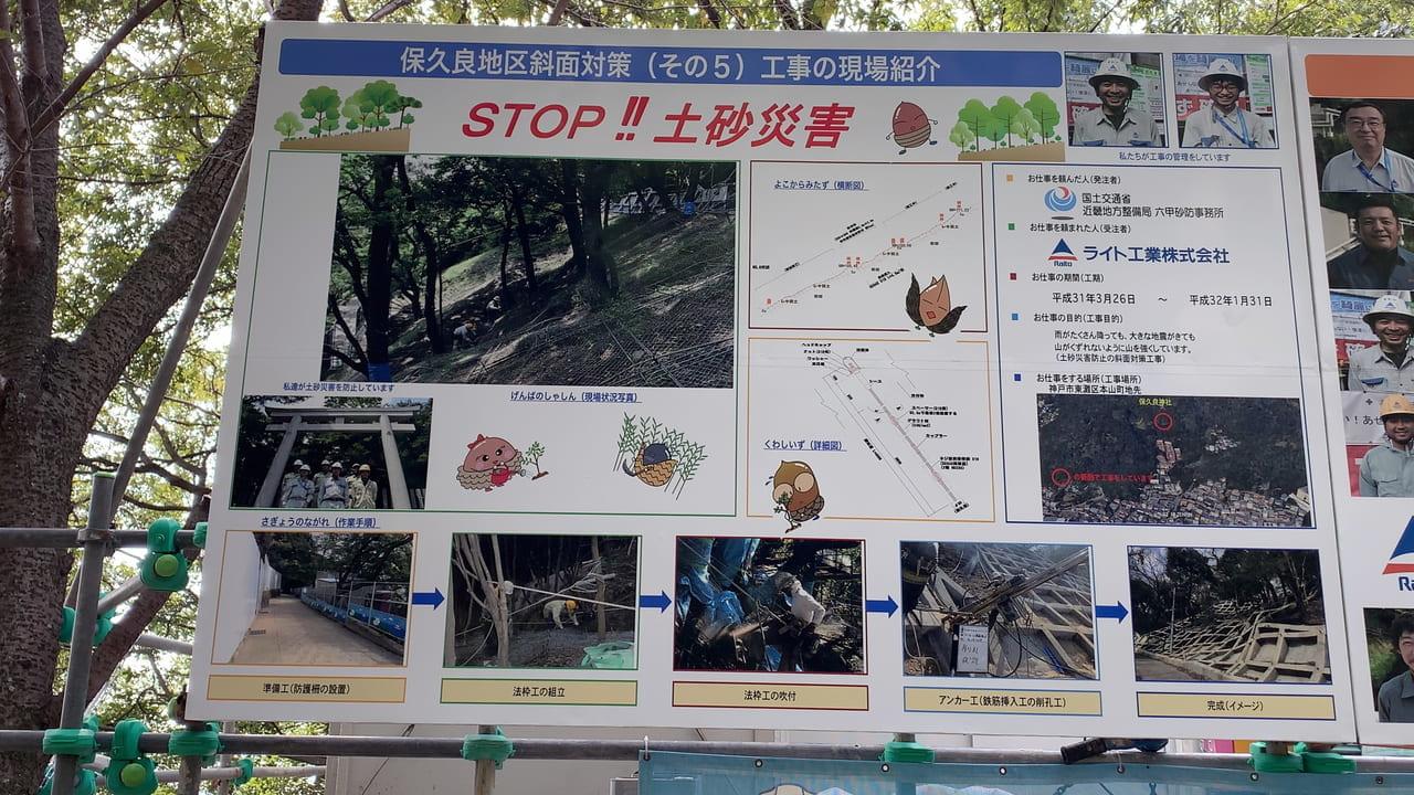 六甲山災害防止