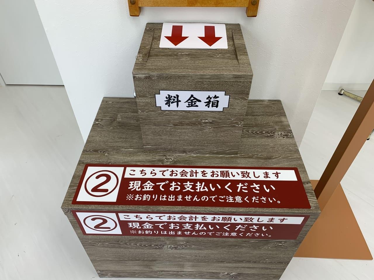 料金箱・六甲道